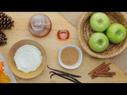 Baked Apple Chips And Caramel Yogurt Dip // Presented By Incredibles 2