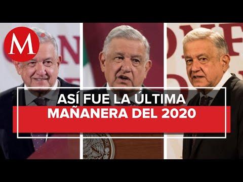 Los temas de AMLO en La Mañanera del 31 de diciembre