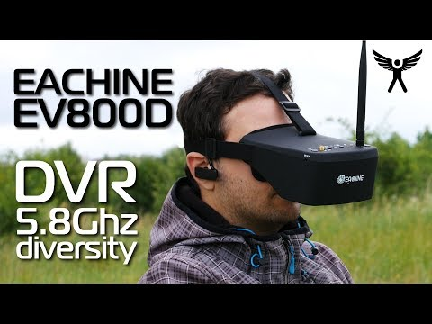 Eachine EV800D FPV 5.8G diversity goggles /w a DVR - definitely a MUST have item! - UCG_c0DGOOGHrEu3TO1Hl3AA
