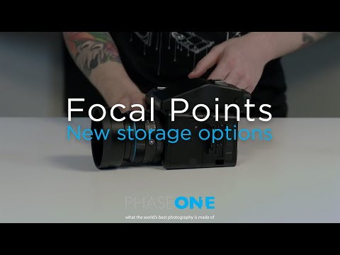 Education I Focal Points - New storage options | Phase One