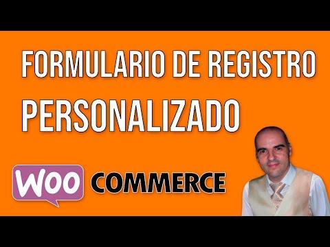 Personalizar campos del formulario de registro de WooCommerce