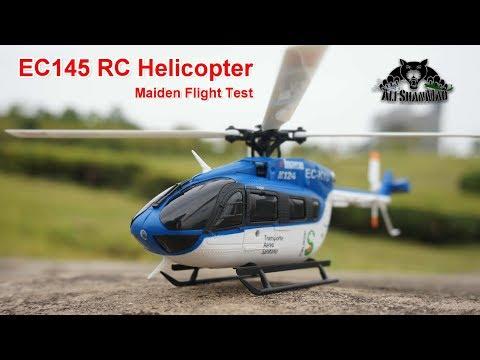 Eurocopter EC145 XK K124 Electric RC Helicopter Maiden Flight - UCsFctXdFnbeoKpLefdEloEQ