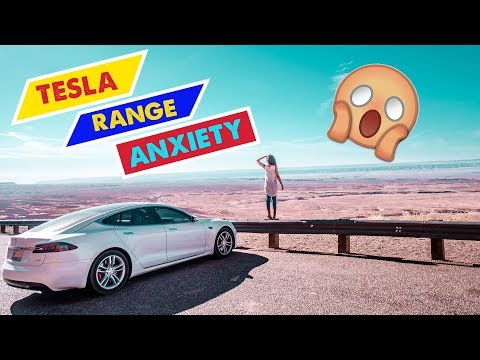 TESLA MODEL S ROAD TRIP: 5,000 Miles (PART 3) – Range Anxiety at Grand Canyon