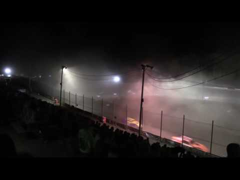 Hilltop Speedway modified feature 7-28-2016 - dirt track racing video image