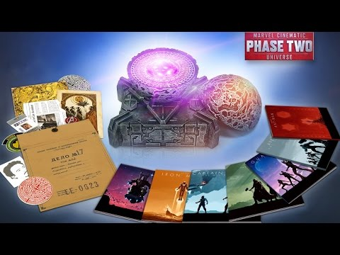 Unboxing 13-Disc Marvel Cinematic Universe: Phase Two Collection - UCKy1dAqELo0zrOtPkf0eTMw
