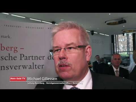 """Berenberg: Michael Gillessen zum Thema """"Unabhängige Vermögensverwaltung"""""""