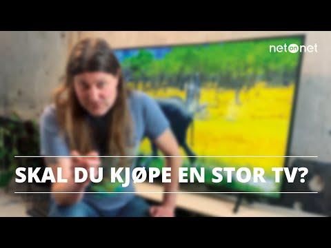 Skal du kjøpe en ny, stor TV? Orvar guider   NetOnNet Klubbhylla