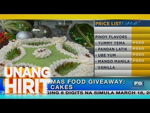 Unang Hirit: Paggawa ng 'parol cakes,' alamin!