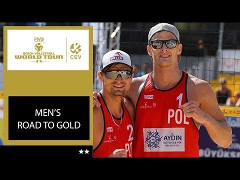 #BeachWorldTour   2* Aydin, Men Road to Gold