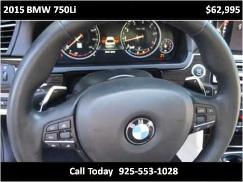 2015 BMW 750Li Used Cars San Ramon CA