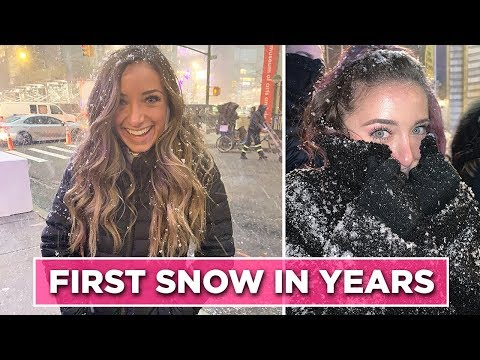 We Saw SNOW for the First Time in YEARS! | Behind The Braids Ep. 108