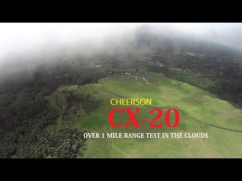 Cheerson CX-20 Quanum Nova QuadCopter Drone Stock Range Test [1.4 Miles In the Clouds Hawaii FPV] - UCVQWy-DTLpRqnuA17WZkjRQ