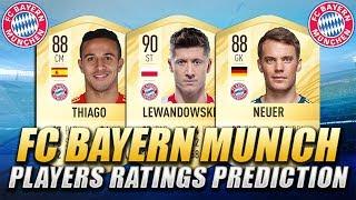 FIFA 20 | FC BAYERN MUNICH PLAYERS RATINGS PREDICTION | w/ Lewandowski, Neuer & Thiago Alcantara