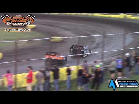 Buffalo River Speedway IMCA Modified A-Main (9/19/21) - dirt track racing video image
