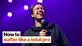 How to suffer like a total pro: Comedian Pete Holmes on ego, judgment, and feeling special