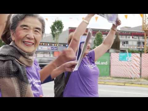 Raising awareness on elder abuse & living with dignity (MOSAIC Seniors Program & BCCRN)
