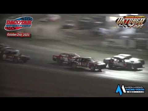Dacotah Speedway WISSOTA Street Stock A-Main (Oktoberfest) (10/2/21) - dirt track racing video image