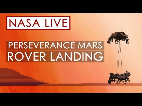 Watch NASA's Perseverance Rover Land on Mars!