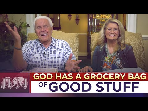 SPECIAL MESSAGE: God Has A Grocery Bag full of GOOD Stuff!  Jesse & Cathy Duplantis