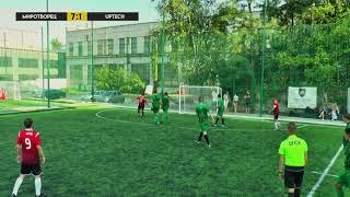 Обзор матча | 9.АФК МИРОТВОРЕЦЬ 10-2 UPTECH TEAM #SFCK Street Football Challenge Kiev