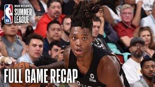 SPURS vs RAPTORS | Lonnie Walker IV Drops 32 Points | MGM Resorts NBA Summer League