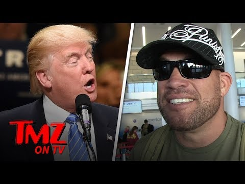 Tito Ortiz Is Friends With The Trumps | TMZ TV