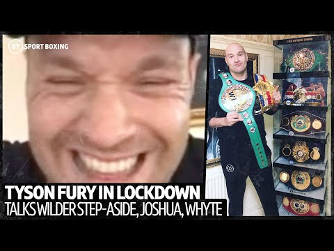 Full NEW Tyson Fury interview on Wilder step-aside, Joshua fight, Whyte callout, Mike Tyson comeback 2