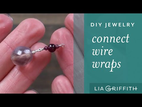 How To Make Wire Jewelry: Connecting wire wraps