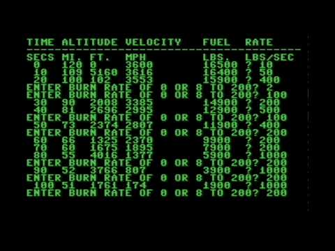 Lunar Lander (2018) | C64 | Homebrew World