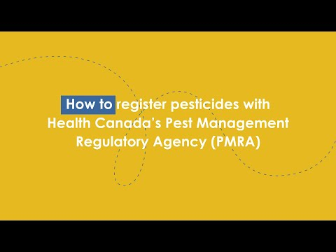 Pest Management Regulatory Agency registration toolkit
