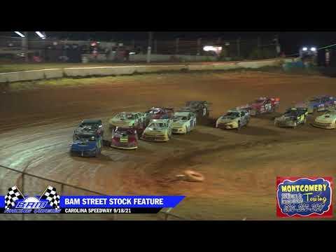BAM Street Stock Battle Royale $10k Feature - Carolina Speedway 9/18/21 - dirt track racing video image