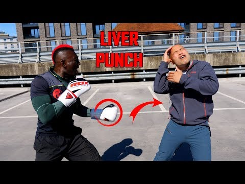 How to liver shot | Kickboxing - self defence (New Series)