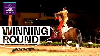 Pas-De-Deux champions are willing to defend their title | FEI Vaulting World Cup™