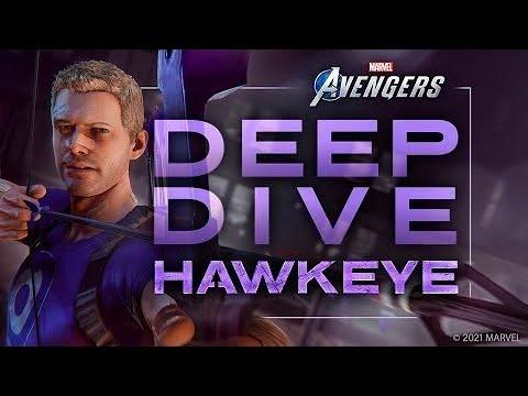 Marvel s Avengers WAR TABLE Deep Dive   Hawkeye (4K) (2160p)