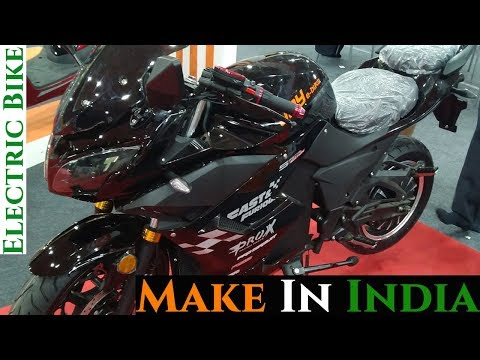 Make in India Electric Motorcycle 2019 - Fast and Furious
