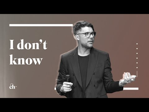 I Dont Know Either // Judah Smith