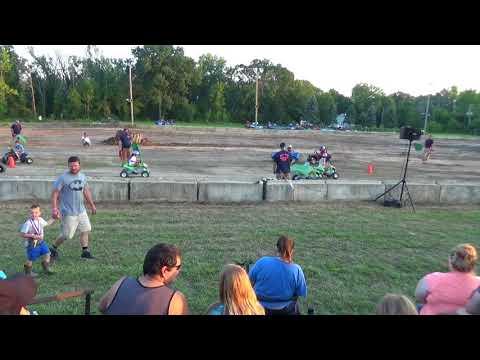 Michigan Bean Festival 2018 Powerwheels race 2 (Fairgrove, Michigan)