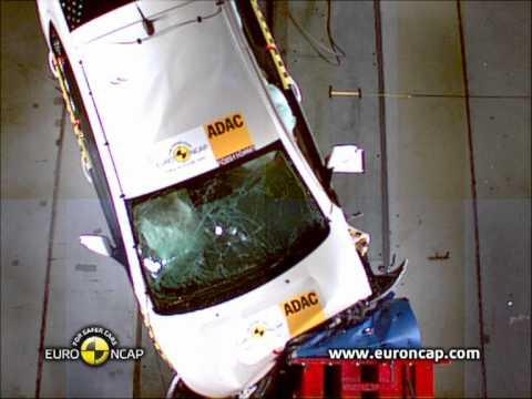Opel Ampera w teście Euro NCAP