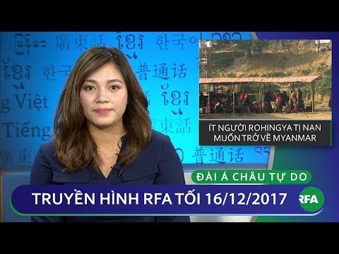 Thời sự sáng 16.12.2017 | Số ít người hồi giáo Rohingya muốn trở lại quê hương | © Official RFA