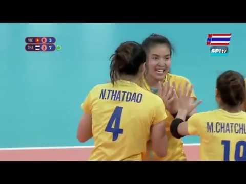 ไฮไลท์ วอลเลย์บอลหญิง ซีเกมส์(เซตที่ 3) ไทย v เวียดนาม - 7 ธ.ค. 2019