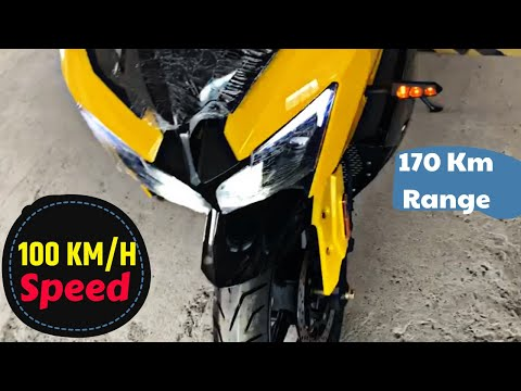 170KM Range Electric Sports Bike in India - Nebulla 2.0 | LARUS MOTOR WORK PVT.LTD