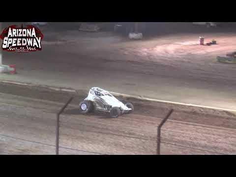 Az Speedway ASCS Desert Sprint Car  Main   June 12 2021 - dirt track racing video image