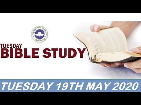 RCCG MAY 19th 2020 BIBLE STUDY  THE POTENCY OF GOD'S PRESENCE