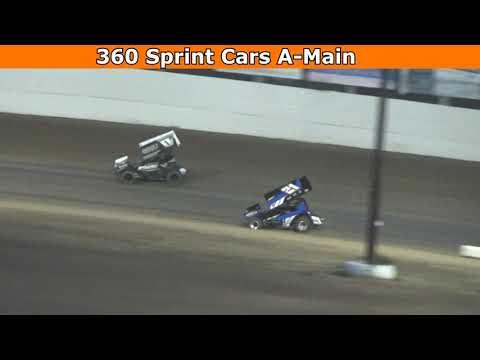 Grays Harbor Raceway, August 14, 2021, 360 Sprint Cars A-Main - dirt track racing video image
