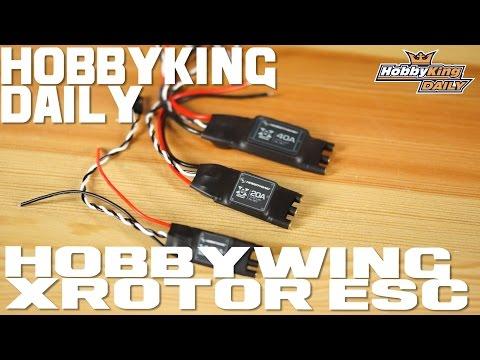 HobbyWing X-Rotor ESC - HobbyKing Daily - UCkNMDHVq-_6aJEh2uRBbRmw