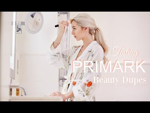 TESTING PRIMARK BEAUTY DUPES      Makeup Tutorial & First impressions       Fashion Mumblr - UCCmfa729dnJCi_bK7fSNbpw