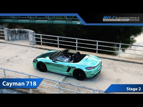 Porsche Cayman 718 2.0T Stage 2 By BR-Performance