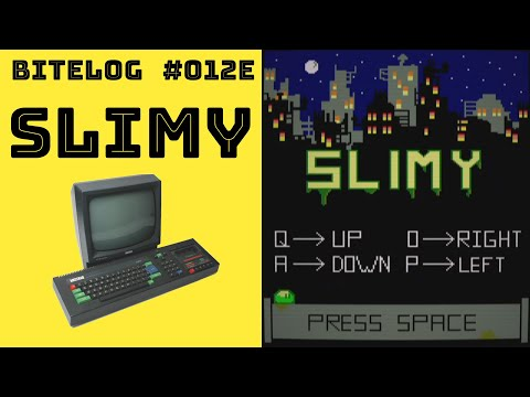 BITeLog 012E: Slimy (AMSTRAD CPC) LONGPLAY