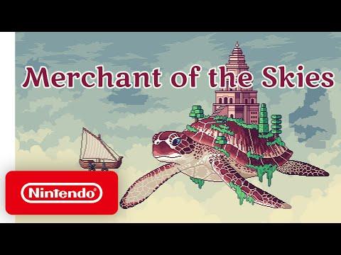 Merchant of the Skies - Launch Trailer - Nintendo Switch