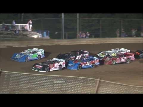 The Crate Late Model feature from the Tyler County Speedway near Middlebourne, West Virginia on July 6, 2020. www.OVDTR.com - dirt track racing video image
